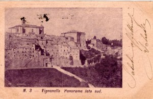 1910 PANORAMA LATO SUD