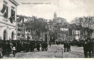 1911 INAUGURAZIONE DELLA STAZIONE FERROVIARIA