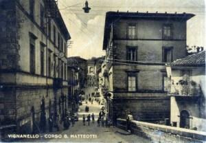 1950 IL CORSO VERSO VALLERANO