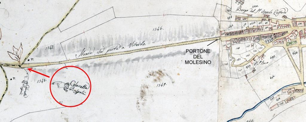 POSIZIONE COLONNETTA 1820